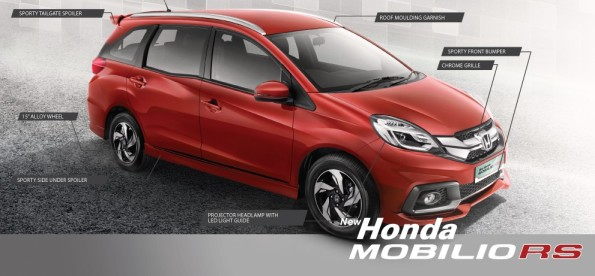 Eksterior New Honda Mobilio RS
