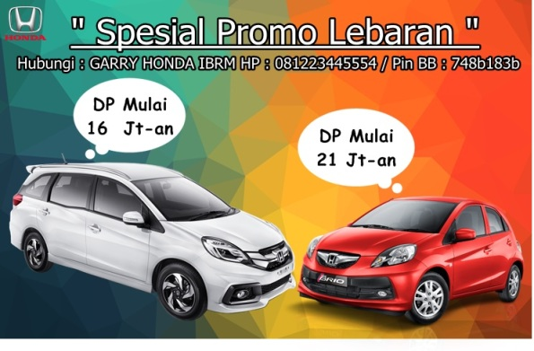 Promo Honda Lebaran