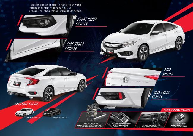 9800 All New Civic Turbo Prestige Terbaik